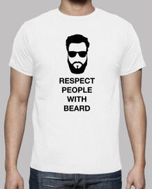 Respect people with beard