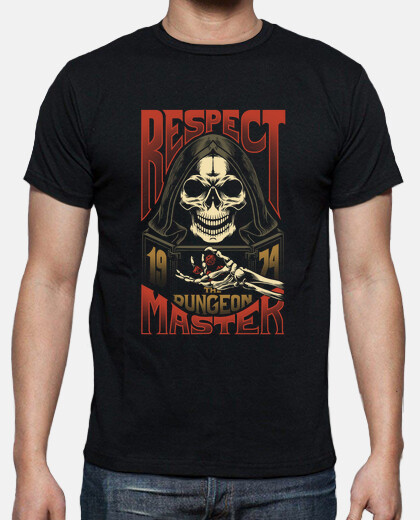 Respect The Dungeon Master - color