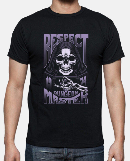 Respect The Dungeon Master - monochrome