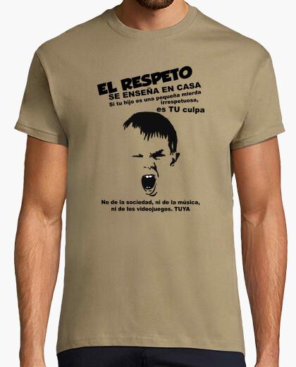 Tee-shirt respecter