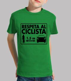 Respeta al Ciclista niños