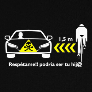 Camisetas Respeto al ciclista