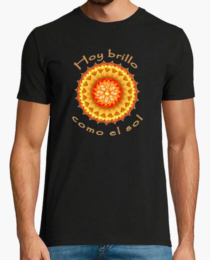 Tee-shirt resplendiront comme le soleil