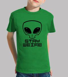 resta strana testa aliena