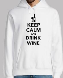 reste calme et bois du vin