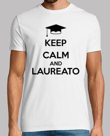 reste calme et diplômé