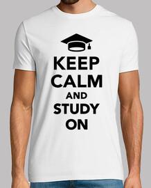 reste calme et étudie