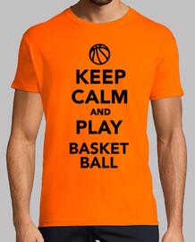 reste calme et joue au basket