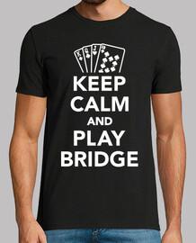 reste calme et joue au bridge