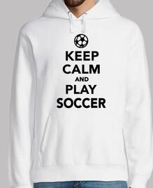 reste calme et joue au foot
