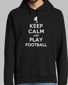 reste calme et joue au football