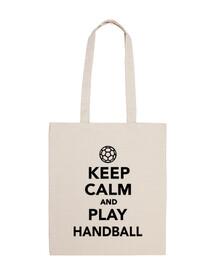 Reste calme et joue au handball