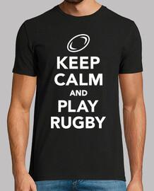 reste calme et joue au rugby