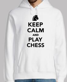 Reste calme et joue aux échecs