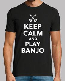 reste calme et joue du banjo