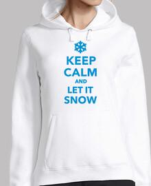 reste calme et laisse la neige