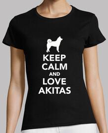 reste calme et love akitas