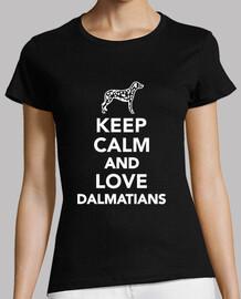 reste calme et love dalmatiens