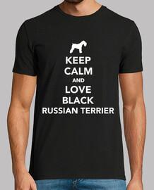 reste calme et love les terriers russes
