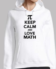 reste calme et love maths pi