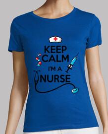 reste calme je suis infirmière