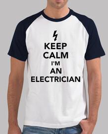 reste calme je suis un électricien