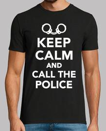 reste calme je suis un policier