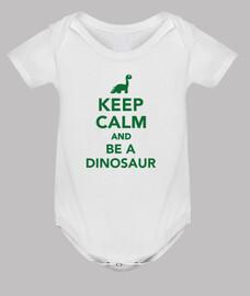 rester calme et être un dinosaure