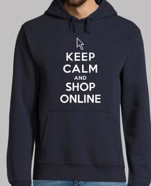 rester calme et magasiner en ligne