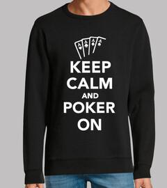 rester calme et poker sur