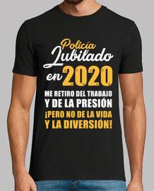 retired police officer in 2020