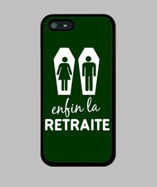 Retirement - iphone case