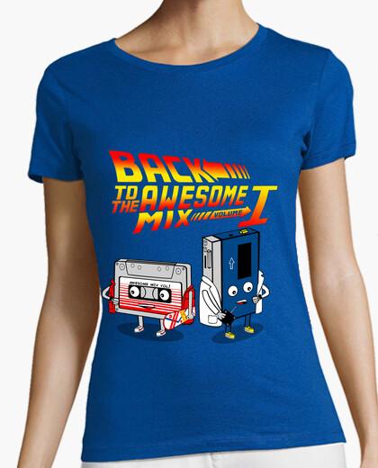 Tee-shirt retour au volume de mélange génial 1