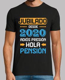 retraité depuis 2020, adieu pression pression bonjour pension