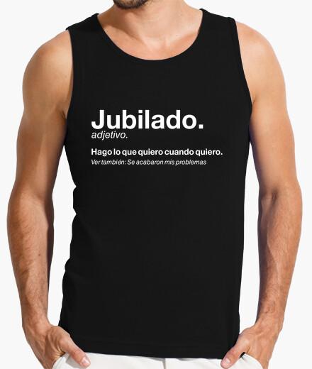 Tee-shirt retraité retraité