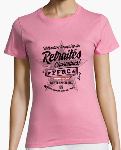 Tee-shirt Retraités Charentais