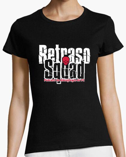 Camiseta Retraso Squad Chica