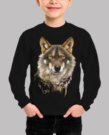 Retrato de Lobo ibérico 1