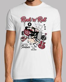 retro 50s pinup rockabilly hot rod t-shirt