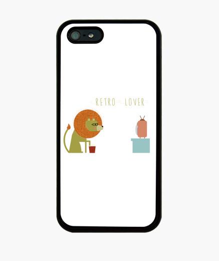 Coque iPhone rétro amant