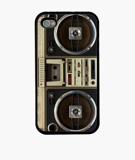 Funda iPhone Retro Boombox V