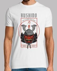 retro bushido japanese warrior t shirt