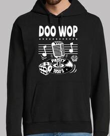 retro doo wop vintage des années 1950 rockabilly USA maillot des années 50