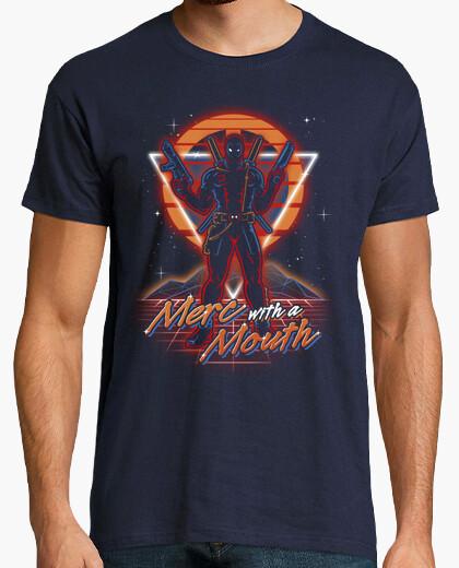 Camiseta Retro Mercenary