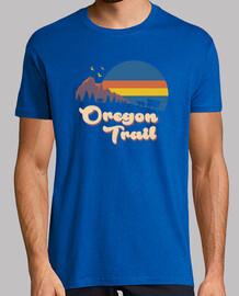 Retro Oregon Trail Shirt Mens