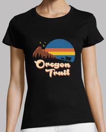 Retro Oregon Trail Shirt Womens