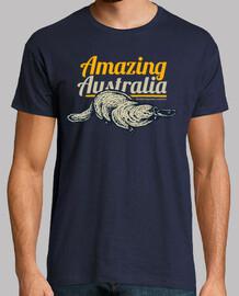 retro platypus t shirt australia vintage gift