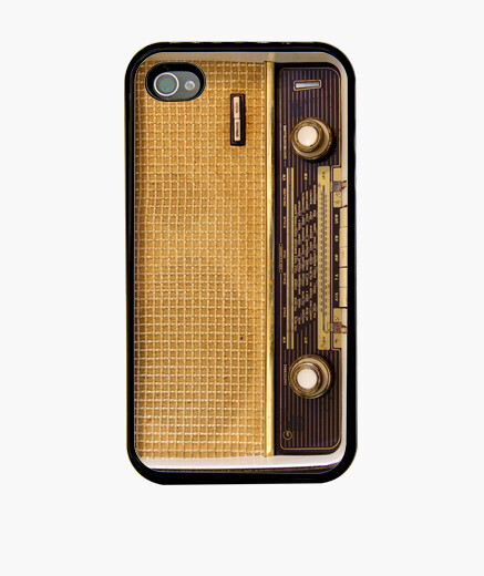Funda iphone retro radio i n 266204 fundas iphone latostadora - Personalizar funda iphone ...
