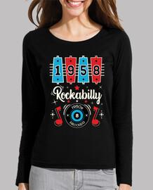 retro rock rockabilly rockers vintage rock and roll usa music t shirt