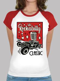 retro rockabilly hotrod vintage rocker usa rock and roll t shirt
